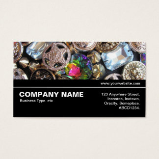 Halfway V3 036 - Flea Market Bling Business Card