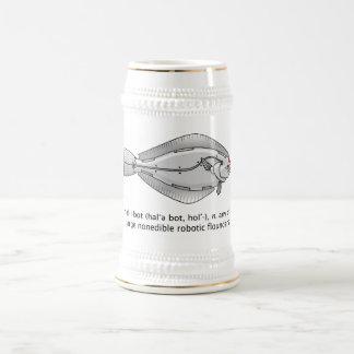 halibot beer stein