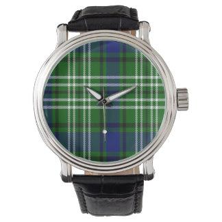 Haliburton Scottish Tartan Wristwatches