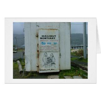 Halibut Mortuary Card