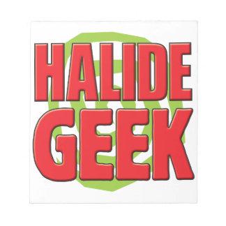 Halide Geek Memo Notepads