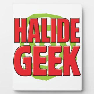 Halide Geek Plaque