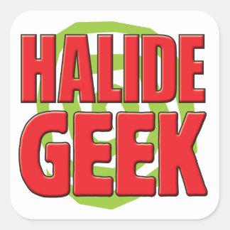 Halide Geek Stickers