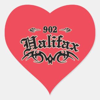 Halifax 902 calcomania corazon