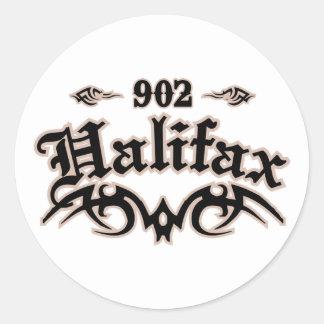 Halifax 902 etiquetas redondas