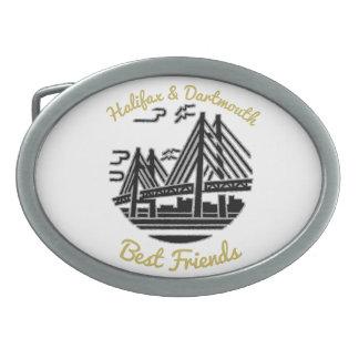 Halifax & Dartmouth Best friends buds belt buckle