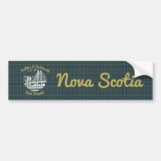 Halifax Dartmouth best friends   bumper sticker