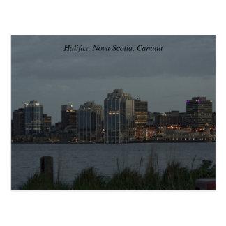 Halifax Harbour Postcard
