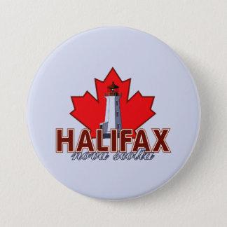 Halifax Lighthouse Button