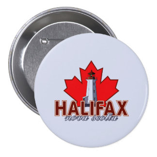 Halifax Lighthouse Button