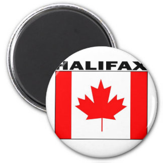 Halifax, Nova Scotia 2 Inch Round Magnet