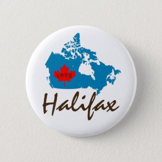Halifax Nova Scotia  Customize Canada pin button