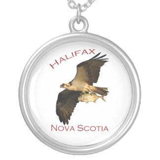halifax, nova scotia round pendant necklace