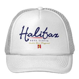 Halifax Script Mesh Hat