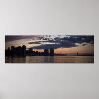 Halifax Waterfront At Dusk fine art print