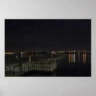 Halifax Waterfront at Night fine art print