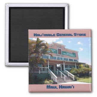Hali'imaile General Store 2 Inch Square Magnet