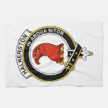 Halkerston Clan Badge Hand Towels