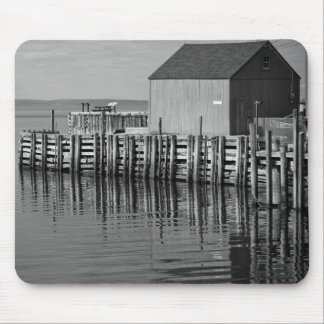 Hall's Harbour B&W Mouse Pads