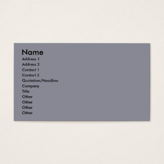 Hall - Avion Gina Rose - Standard Poodle Business Card