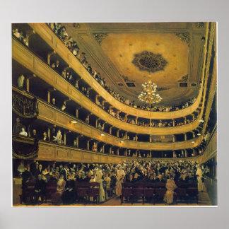 Hall by Gustav Klimt Poster