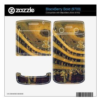 Hall by Gustav Klimt BlackBerry Decals
