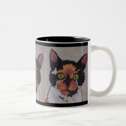 Hall cat coffee mug