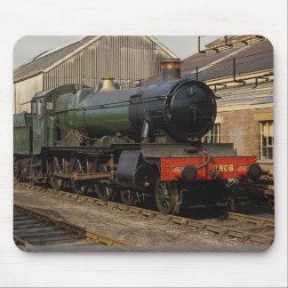 Hall Class Locomotive, Didcot, Oxfordshire, Englan Mouse Pad