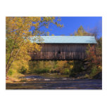Hall Covered Bridge Saxtons River Vermont Post Cards