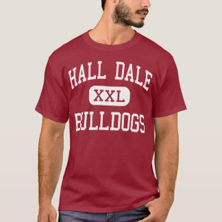 Hall Dale - Bulldogs - Middle - Farmingdale Maine T-Shirt