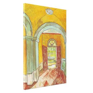 Hall de entrada Van Gogh del hospital de Saint Impresión En Lona
