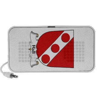 Hall Family Crest iPod Speaker