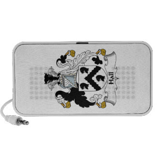 Hall Family Crest Notebook Speakers