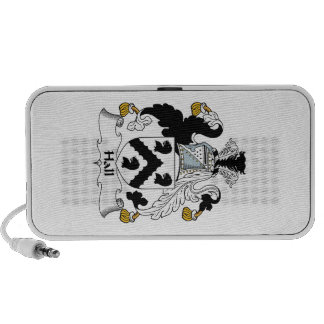 Hall Family Crest Mp3 Speakers