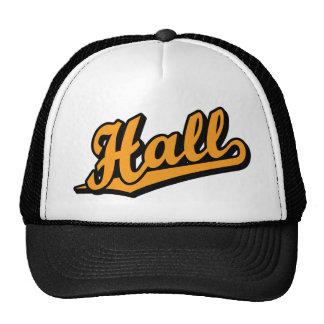 Hall in Orange Trucker Hat
