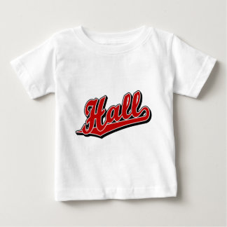 Hall in Red Baby T-Shirt