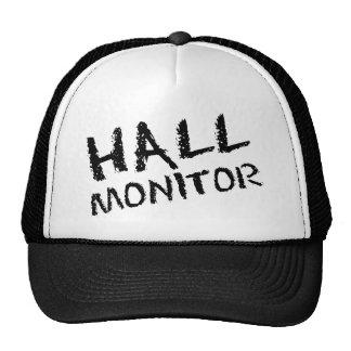 Hall Monitor Black Hats