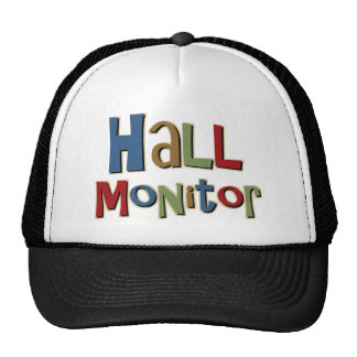 Hall Monitor Colorful Trucker Hat