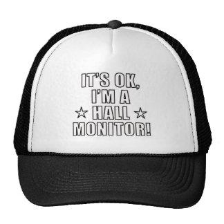 Hall Monitor Trucker Hat