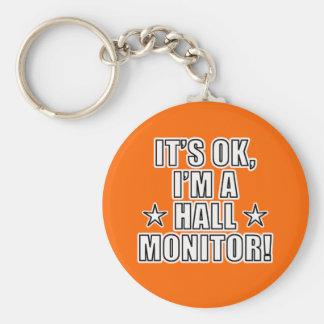 Hall Monitor Keychain