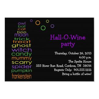 Hall-O-Wine Invitation