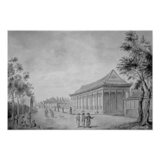 Hall of Audience at the Old Summer Palace, Poster