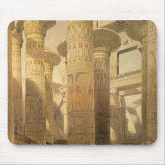 """Hall of Columns, Karnak, from """"Egypt and Nubia"""", V Mouse Pad"""