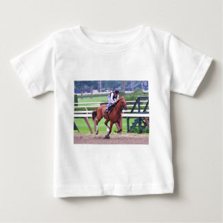Hall of Fame Jockey Alex Solis Baby T-Shirt