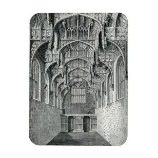 Hall of Hampton Court Palace Rectangular Photo Magnet