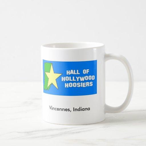 Hall of Hollywood Hoosiers mug