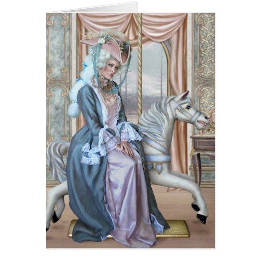 Hall of Illusions-print Greeting Card