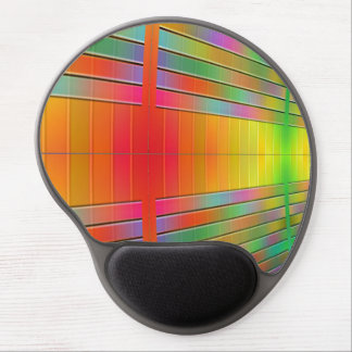 Hall of Information Abstract Gel Mouse Pad