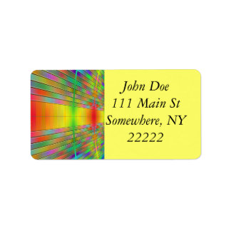 Hall of Information Abstract Address Label