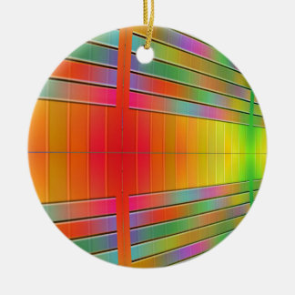 Hall of Information Abstract Ornaments